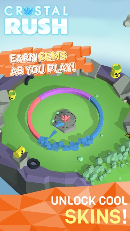 Crystal Rush! Color Shoot Arcade Game