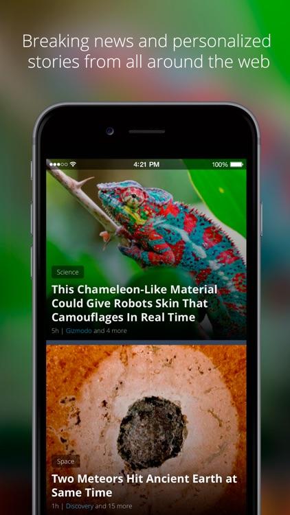 News360: Personalized News screenshot-0