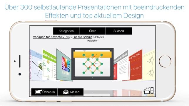 Vorlagen für Pages & Keynote Ed 2017 im App Store