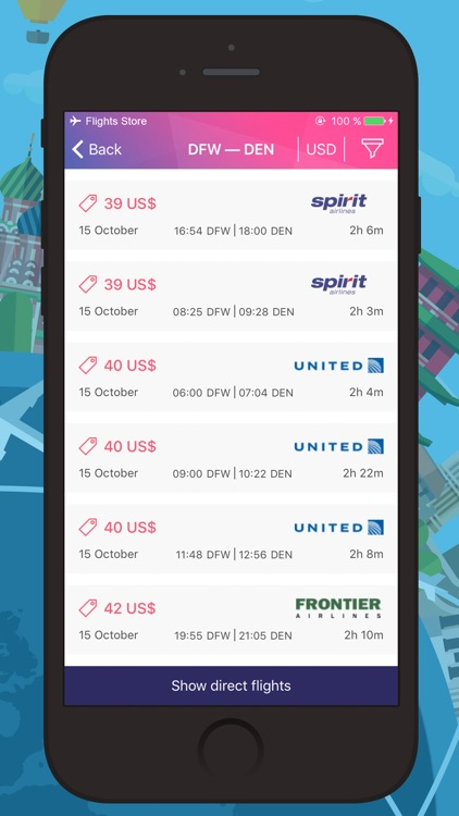Cheap Airline Tickets – Cheap Travel! Best Prices! screenshot-3