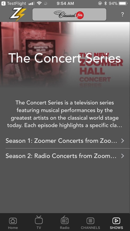 The New Classical FM screenshot-3