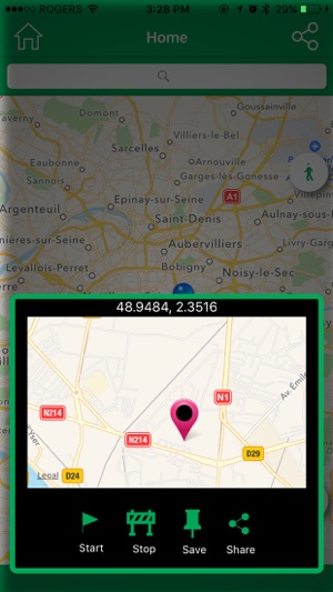 Fake GPS Location for iPhone and iPad Screenshot