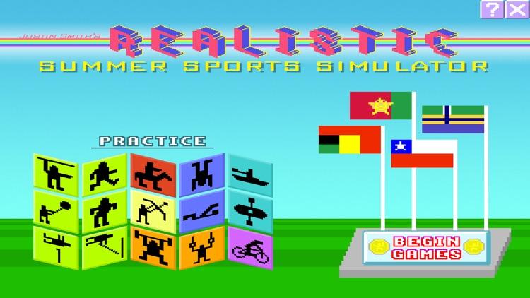 Realistic Summer Sports