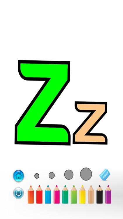 ABC Alphabet Color Book screenshot-4