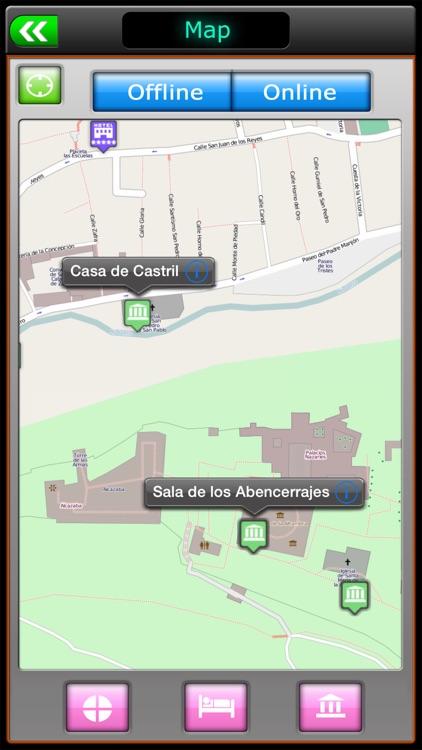 Granada Offline Map Travel Guide