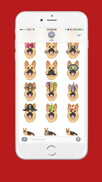 German Shepherd Emoji