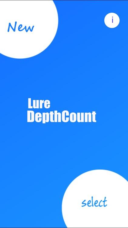 DepthCount - Lure Depth Calculator -