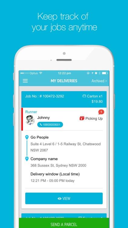 Go People Sender App