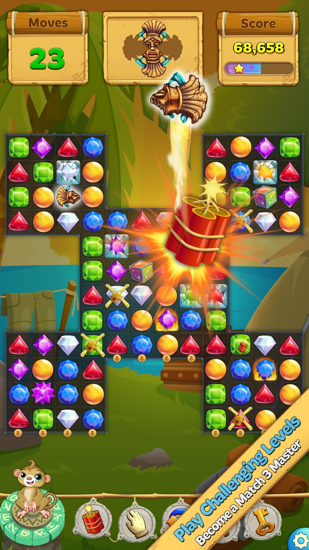 Crystal Island: Match 3 Puzzle Cheat Codes