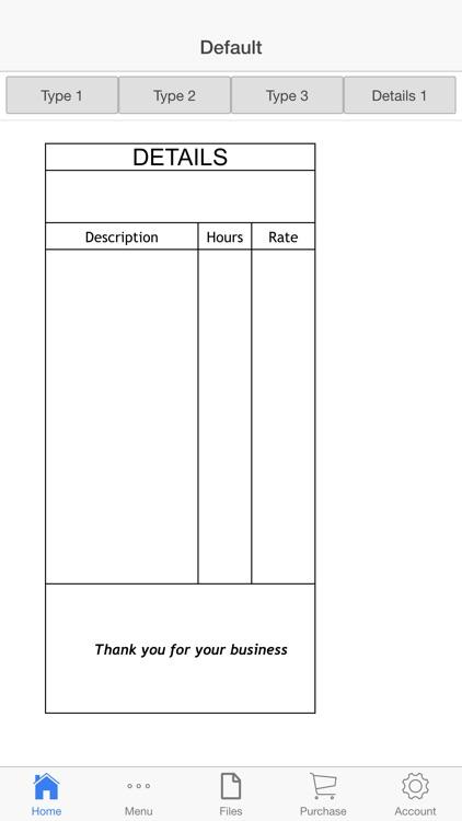 Sales Receipt screenshot-3