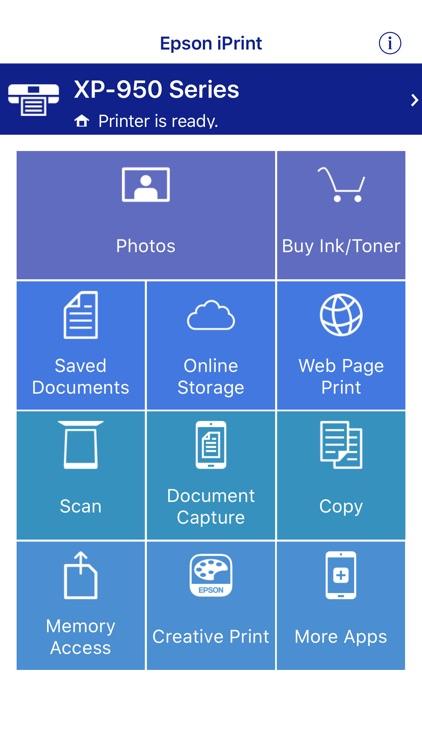 Epson iPrint screenshot-0