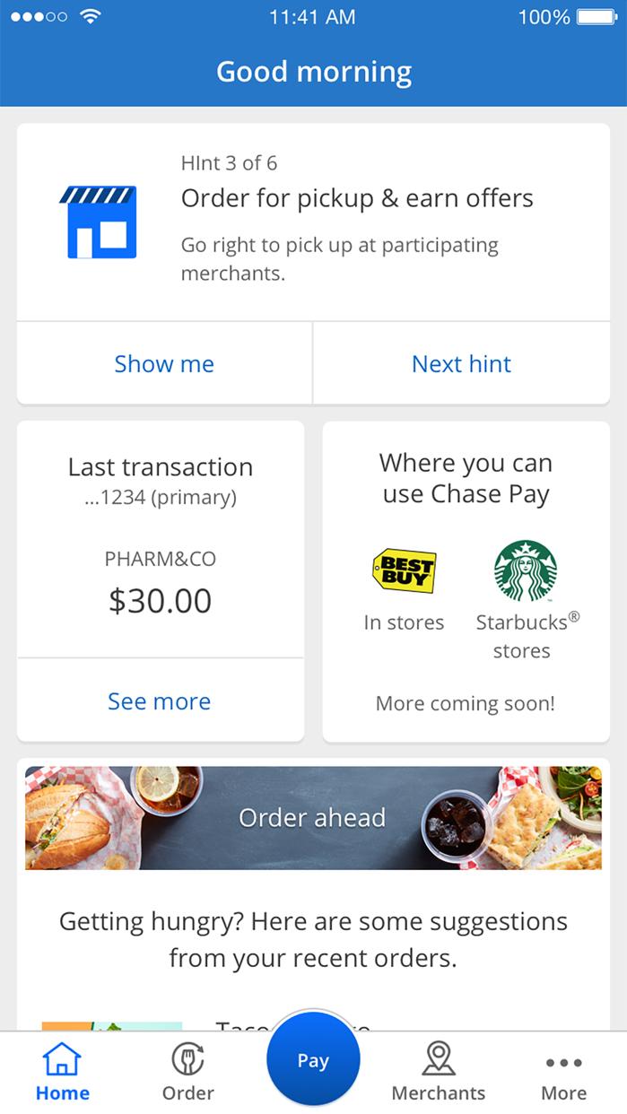 Chase Pay® Screenshot