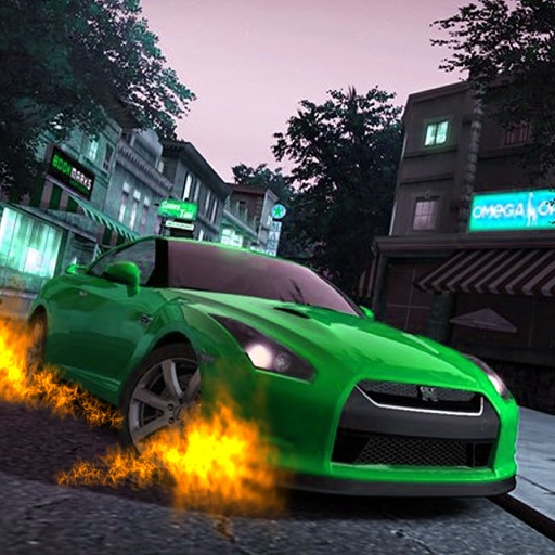Car Highway Traffic Explosive - A Fiery Race