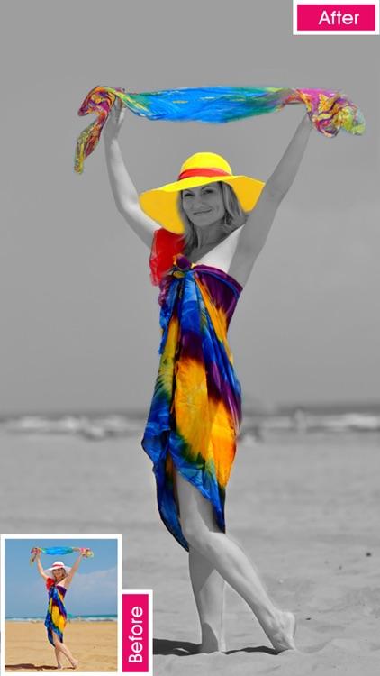 Color Splurge photo editor for coloring recoloring screenshot-4