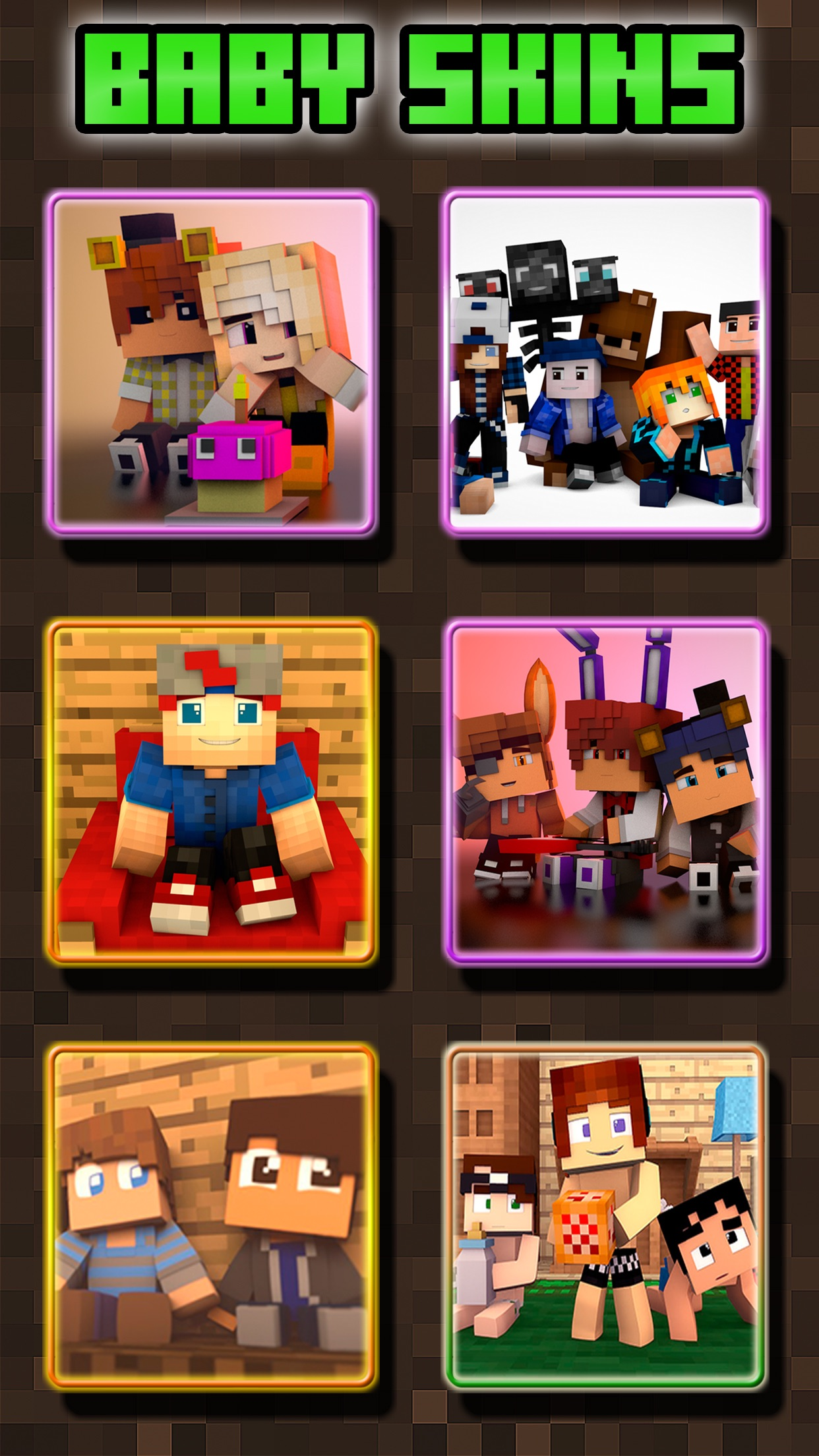Baby Skins for Minecraft PE ( Pocket Edition ) Screenshot