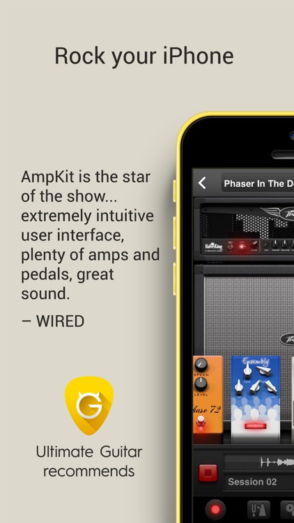 AmpKit - Guitar amps, pedals, tools & effects
