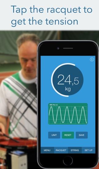 RacquetTune - ストリング テ... screenshot1