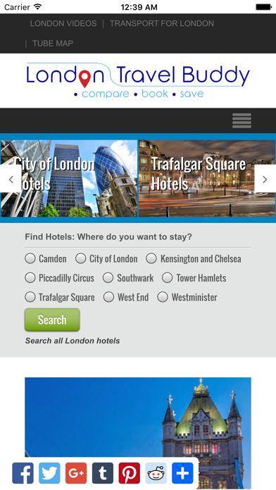 London Travel Buddy screenshot one