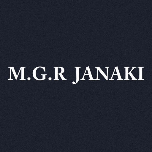 MGR Janaki