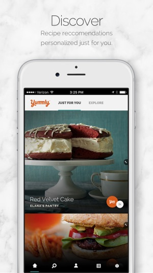 Yummly recipes shopping list on the app store screenshots forumfinder Gallery