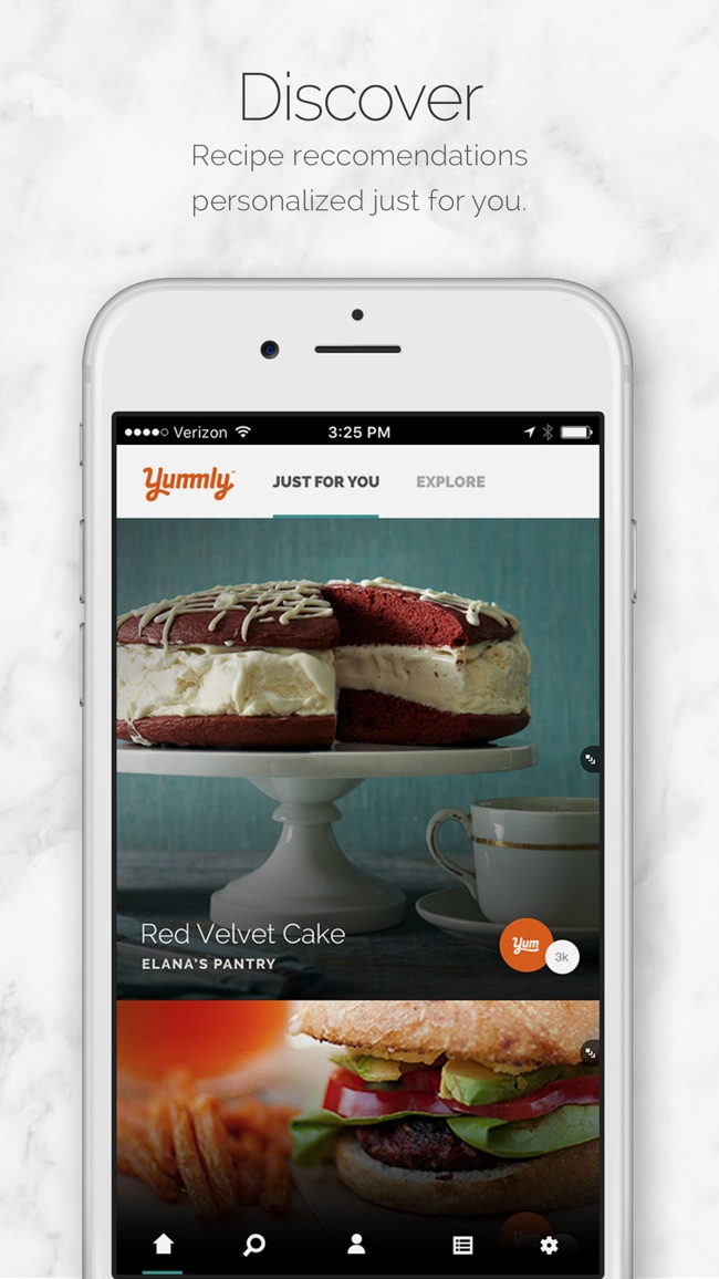 Yummly Recipes & Recipe Box Screenshot