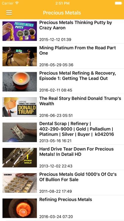 Gold News & Precious Metal Prices Today Pro screenshot-3