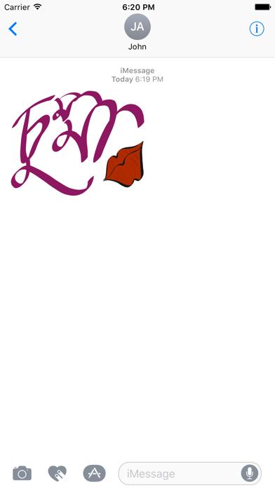 Bangla Stickers screenshot one