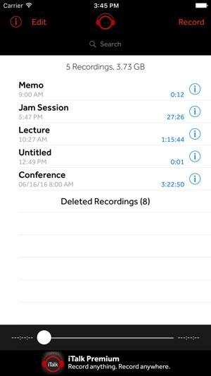 iTalk Recorder on the App Store