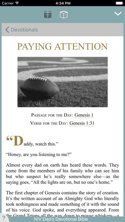 Dad's Devotional Bible screenshot-3