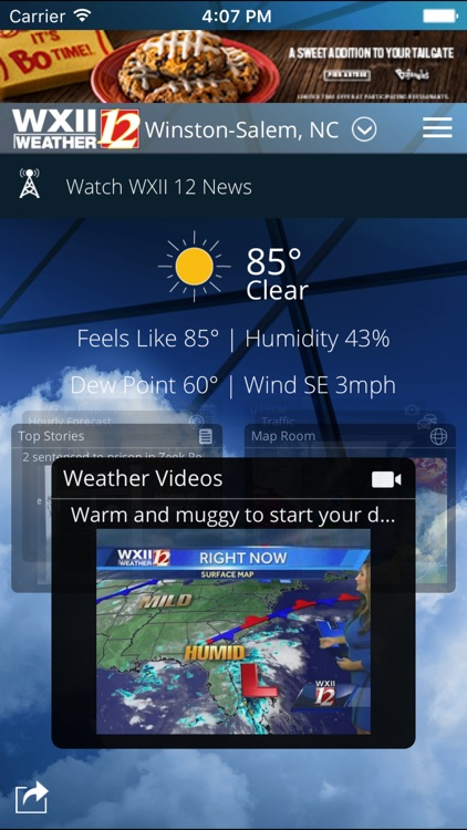 WXII 12 Weather screenshot-0