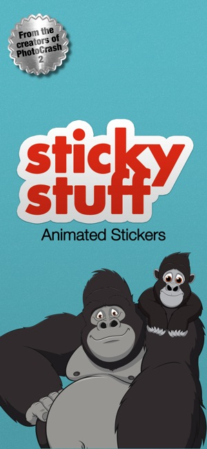 Sticky Stuff Animated Stickers Screenshot