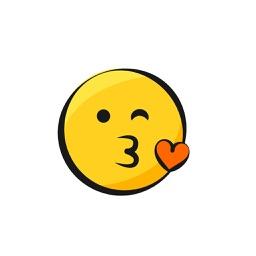 Yellow Smiler Sticker