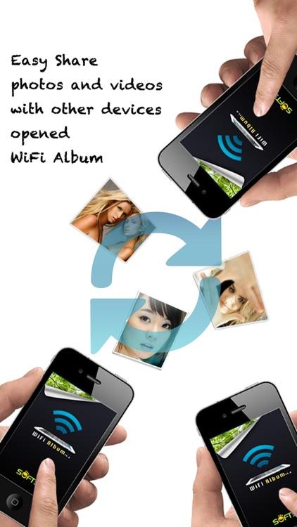 WiFi Album Free Wireless Photo Video Transfer App