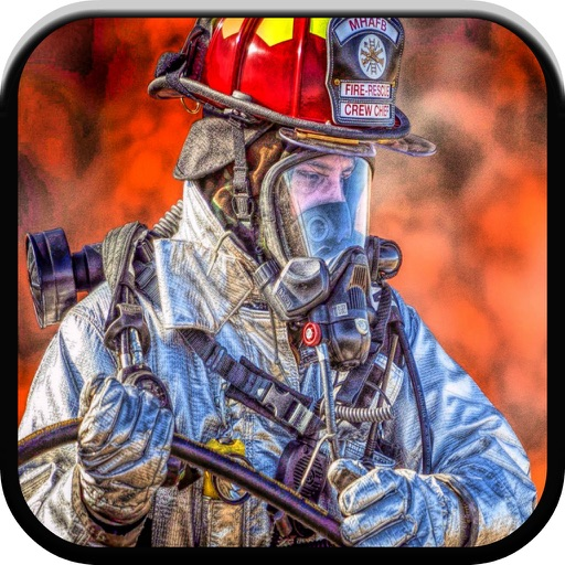 Fun fire truck games for kids free sounds & puzzle | iPhone