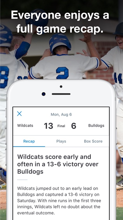 GameChanger Baseball & Softball Scorekeeper screenshot-3