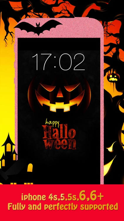 Halloween Backgrounds & Wallpapers HD - Home Screen Maker with Pumpkin, Horror ,scary Images