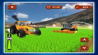 Village Farmer Tractor Drive Screenshot