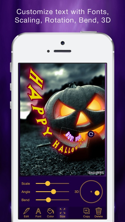Halloween Cards Maker screenshot-2