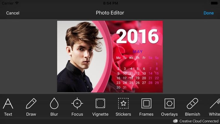 2016 Calendar Frames screenshot-4
