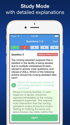 CNA Smart Exam Prep - Practice Test & Study on the App Store
