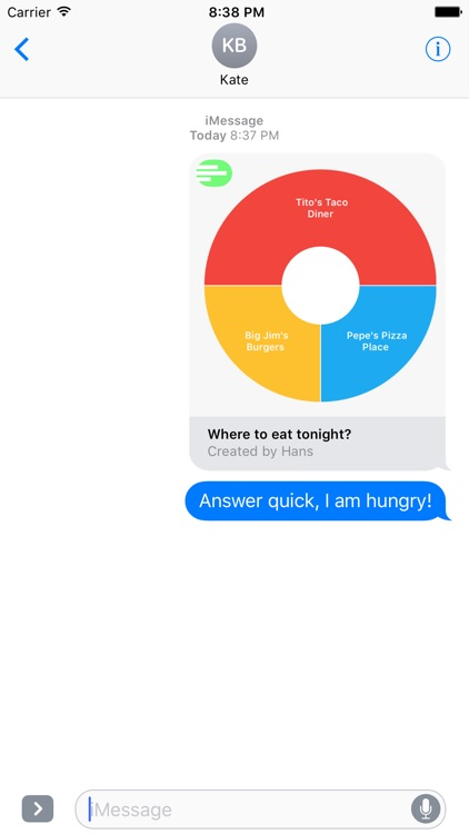 Polls - Create Polls in iMessage