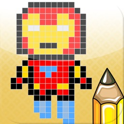 Learn How To Draw Pixel Art Super Heroes