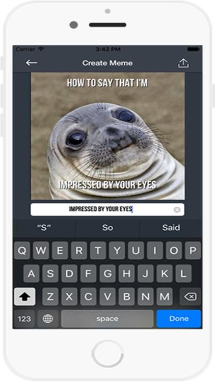 Meme Generator Free App screenshot-3