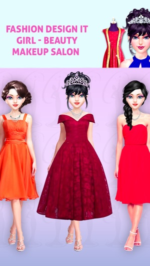 Fashion Design It Girl Beauty On The App Store