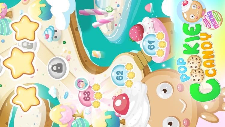 Pop Cookie Candy Mania screenshot-4