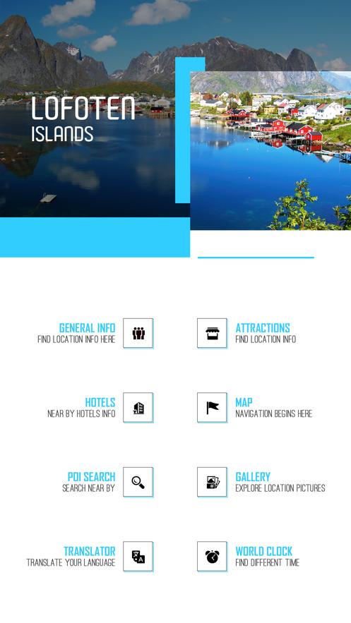 Lofoten Islands Tourism Guide App 截图