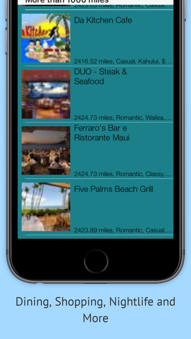 Maui 50 Things Screenshot