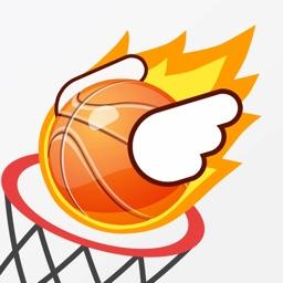 小小篮球-指尖疯狂投篮机