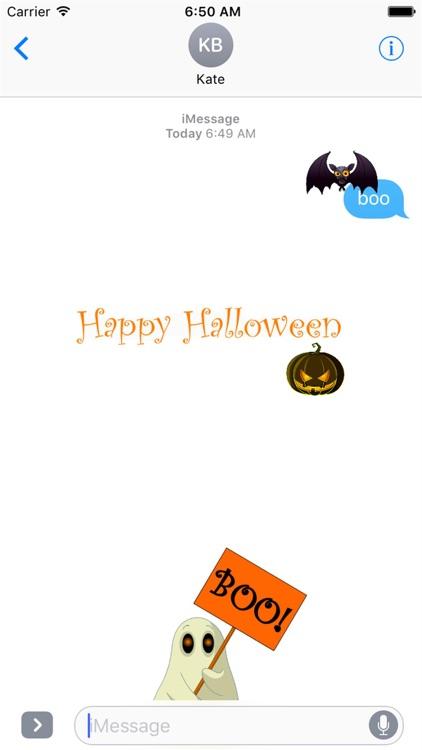 HD Halloween Stickers screenshot-3
