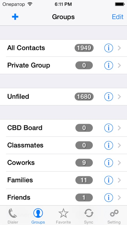 iContactsPro - Advanced Contact & Group Manager screenshot-3